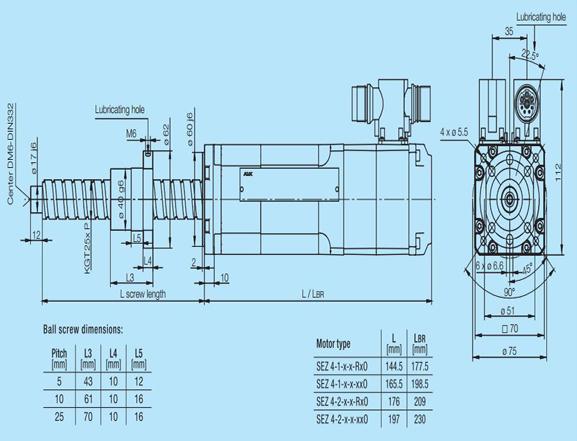 直线驱动电机电缸- sez